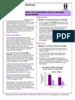2008 Diabetes Data Summary
