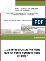 Sesión 1 Infraestructura y Competitividad