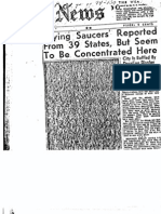 UFO declassifed FBI Files Part 4