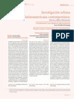 Artículo. Investigación Urbana (Completo)