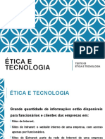 AULA 03 - ÉTICA E TECNOLOGIA