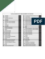 56 - Dodge Dakota - manual de manutenção - Localizador dos indicadores de grupo