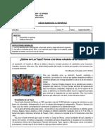 Guía de ejercitación El reportaje Lengua y Literatura 7° básico
