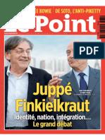 Identité, Nation, Intégration, Le Grand Débat Juppé-Finkielkraut (Le Point, 2016)