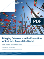 Bringing Coherence to the Promotion of Just Jobs