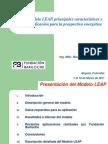 El Modelo LEAP Presentacion Colombia 2011