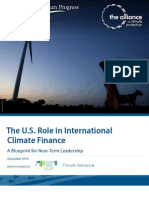 The U.S. Role in International Climate Finance