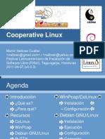 2011-04-08 - Presentacion de CoLinux v0.0.3 por Martin Cuellar @ FLISOL2011_Honduras,Tegucigalpa