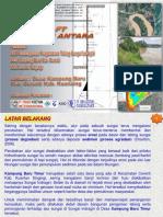 Presentasi Draft INTERIM Pengaman Tebing Kampung Baru Cerenti
