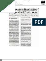 Il Frontino Montefeltro giunge alla 40a edizione - Il Nuovo Amico del 26 settembre 2021