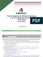 Plan de Negocios PEMEX 2010-2024