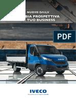 2019 Iveco Daily Cabinato
