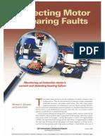 detecting motor bearing faults
