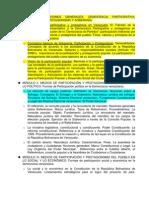 PROGRAMA DE LA MATERIA MEDIOS DE PARTICIPACION