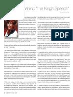 Jane Fraser President of the Stuttering Foundation of America Pg 1