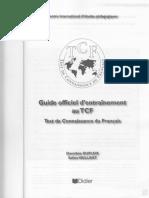 Guide d'Entrainement Au TCF DIDIER 2002 PARooIS