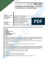 ABNT NBR 10520-2002 - Citações Em Documentos - Apr