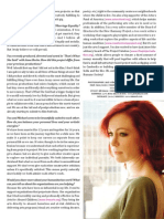 Interview with Carrie Preston Pg 2