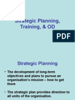 Strategic Planning, Training, & OD