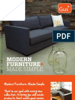 Gus* Modern | Summer/Fall 2011 Collection | Modern Furniture Made Simple