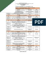 32. Agenda Semanal Septiembre 27 Al 1 de Octubre de 2021