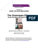 alan greenspan - inside the guru mind