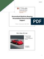 Elmer Bernstam - Personalized Medicine