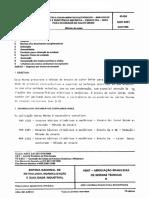 NBR 05391 - Componentes e equipamentos eletronicos - Ensaios de ambiente e de resistencia mecanic