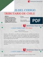 ANALISIS DEL CODIGO TRIBUTARIO DE CHILE