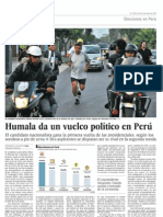 Humala, vuelco político, Perú