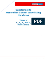 Control Valve Sizing Handbook Supplement
