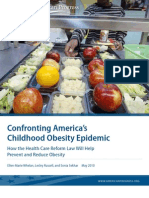 Confronting America's Childhood Obesity Epidemic