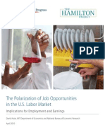 The Polarization of Job Opportunities in the U.S. Labor Market
