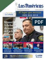 Portada Diario Las Americas 09-27-2021