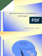 dimensionamento DE ENFERMAGEM