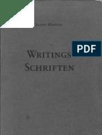Agnes Martin - Writings
