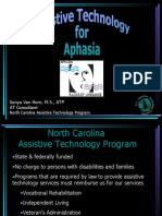AT for Aphasia