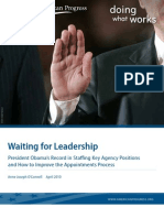 Waiting for Leadership