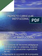 (04)  PROYECTO CURRICULAR INSTITUCIONAL