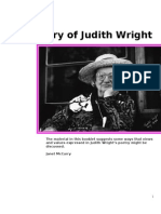 Poetry of Judith Wright