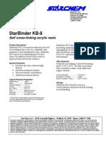 StarBinder KB-8 TDS-H