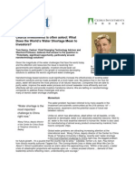 Cedrus Investments_Cleantechnology_Stanford professor_Tom Kenny _ Water_Article_(2011)