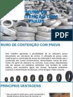 MURO DE CONTENÇÃO COM PNEUS