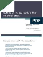 Europe at Cross Roads