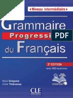 Grammaire Progressive Du Français - Niveau Intermediaire