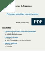 Processos Industriais e seus Controles
