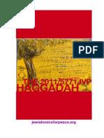 JVP Haggadah Passover 2011 FINAL