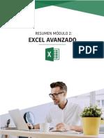 Resumen de contenidos - Módulo 2 - Excel Avanzado_v2