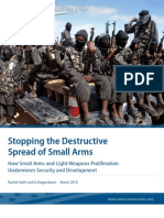 Stopping the Destructive Spread of Small Arms