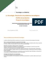 Pres 4 Proceso en Tecnología